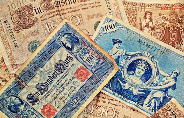 bankovky, staré peniaze