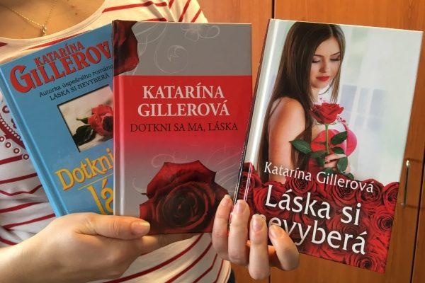 Gillerová 2 teda tri knihy