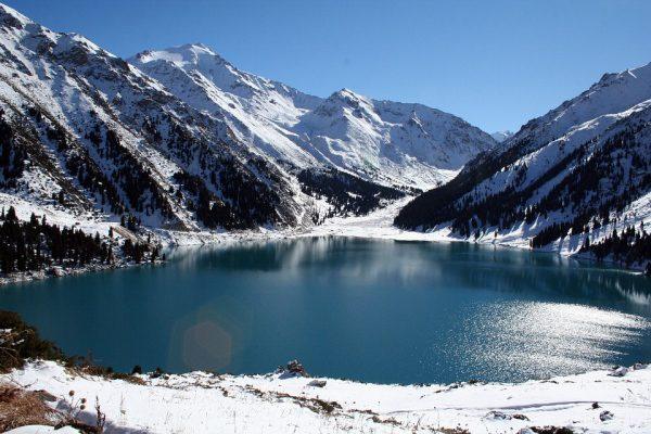 Kazachstan pohorie Ťan šan