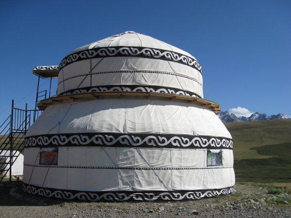 Kirgizsko jurtový stan