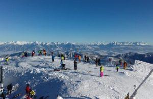 lyžovačka lyžiarske SVahy na Slovensku