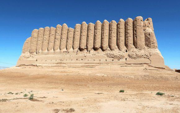 Merv Turkmenistan pevnosť
