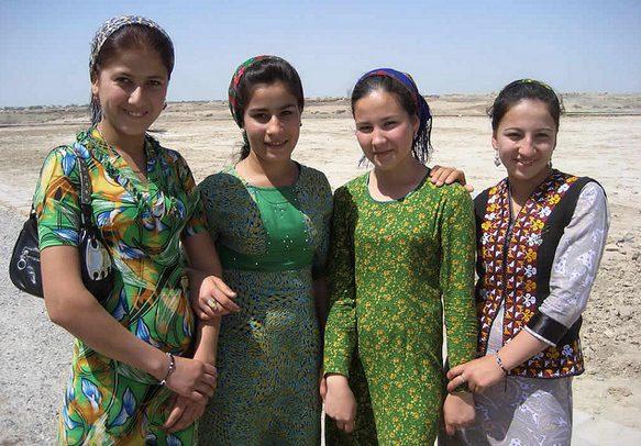 Turkmenistan ženy