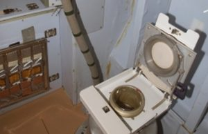 modul toalety na ISS, ruský Zvezda