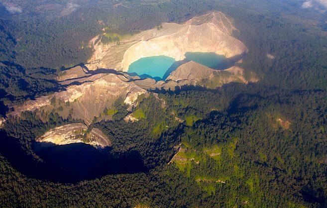 Kelimutu jazerá, Indonézia
