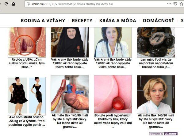 Chillin nebezpečné reklamy,. hoax.sk