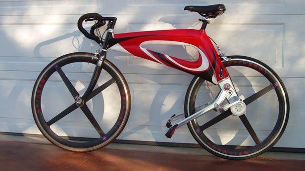 NuBike bicykel bez pedálov a reťaze