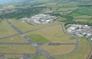 Letisko v Glucestershire