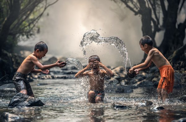 Deti Ázia Thajsko