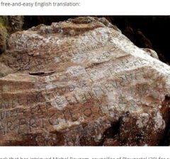 Francúzsky záhadný nápis