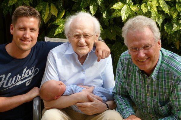 Rodina, otec syn a genetika