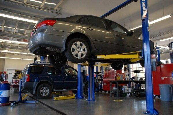 STK autoservis kontrola vozidla