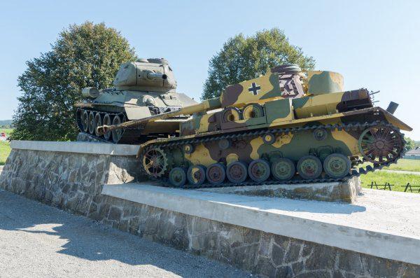 Tanky vo Svidníku