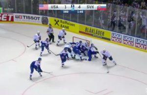 USA slovakia, majstrovstvá sveta v hokeji 2019