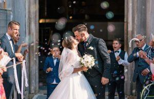 svadba manželia