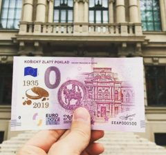 Košický zlatý poklad, bankovka 0 eur