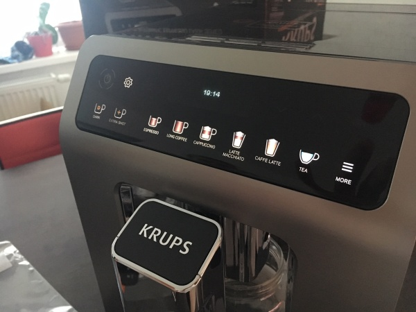 Krups evidence plus kávovar, titan