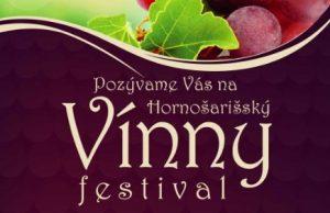 Hornošarišský vínny festival 2019