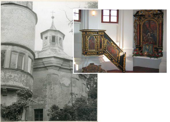 Kaštieľ Moravany, historická kaplnka