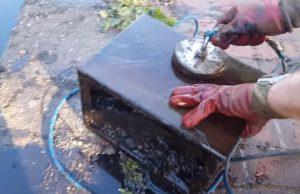 magnet fishing lov železa z vody