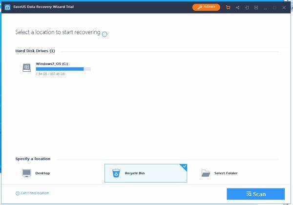 EaseUS Recovery software recenzia
