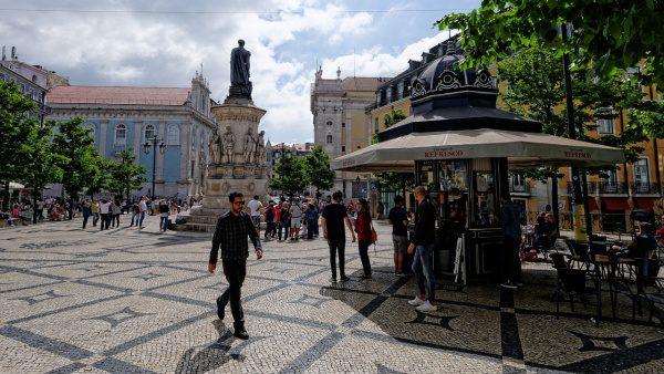 Kiosk Lisabon historické centrum