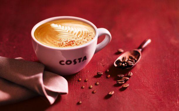 malinový flat costa coffe