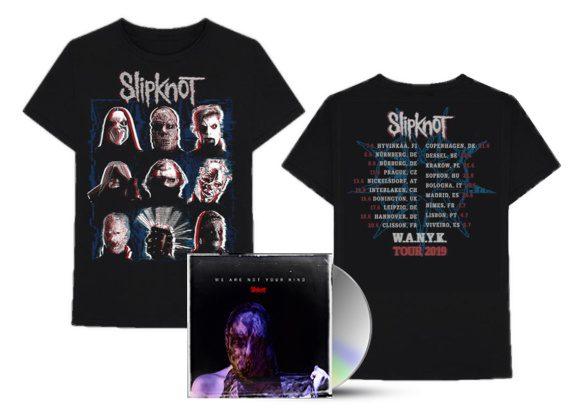 merch, darčekové predmety Slipknot