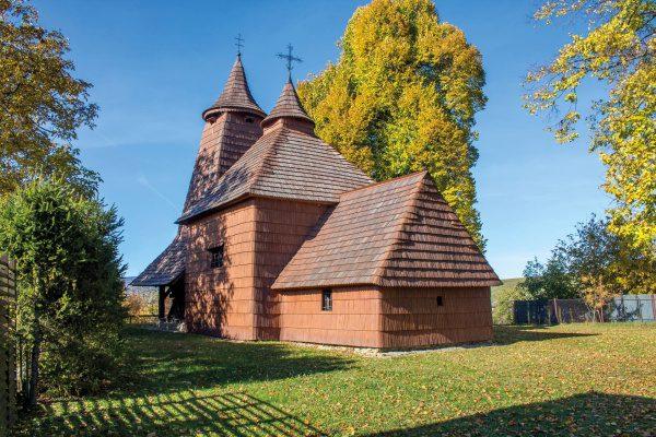 Drevený kostol Trocany