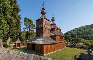 Artikulárny drevený kostol Bodružal