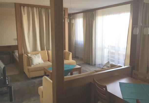 Hotel Granit, Tatranské zruby, recenzia apartmán