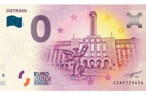Ostrava 0 eurová bankovka