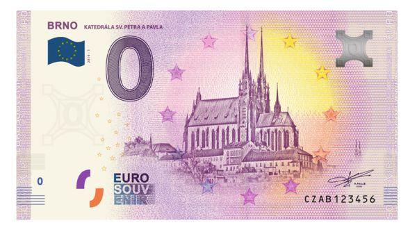 Brno 0 eur bankovka