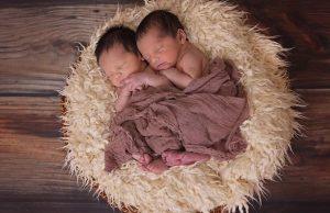 dvojčatá deti