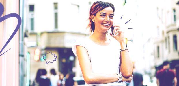 komunikácia, žena, viber