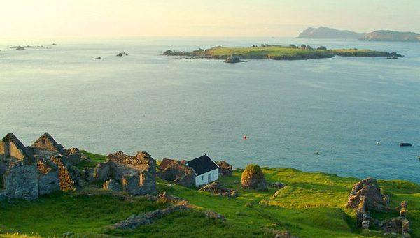 Great Blasket ostrov pri Írsku