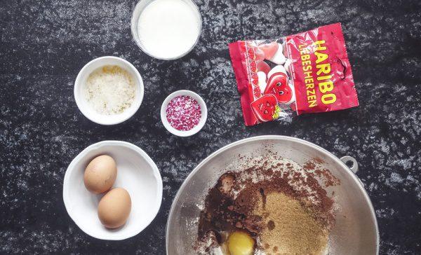 Haribo Cupcakes