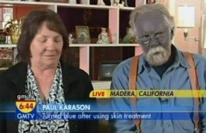 modrý muž paul karason