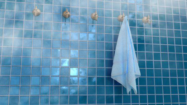 Sprchy, hygiena, šatňa