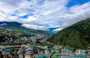 Bhután rieka mestá