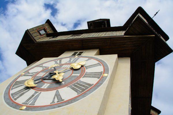 Rakúsko, Graz, hodinová veža