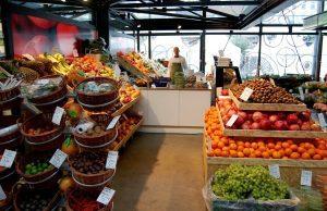 Potraviny a obchod hipsterského typu