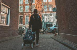 Laura, Amsterdam počas koronavírusu a koronakrízy