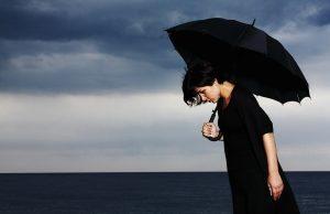Depresia dáždnik