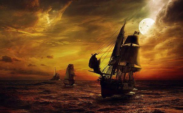 Piráti a pirátske lode