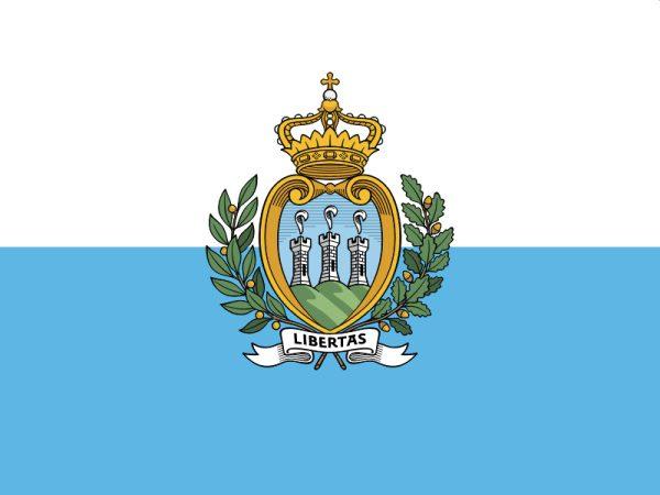 štátna vlajka San Maríno