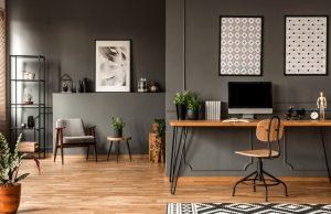 Stolička a interier