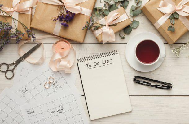 To do list a plánovanie svadby