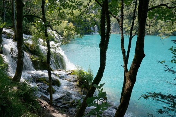 Plitvické jazerá chorvátsko, nakrúcanie Vinnetou, filming location