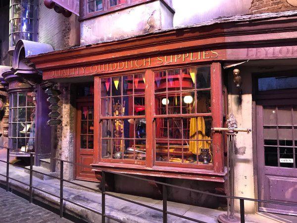Šikmá ulička, Harry Potter,filmové miesta